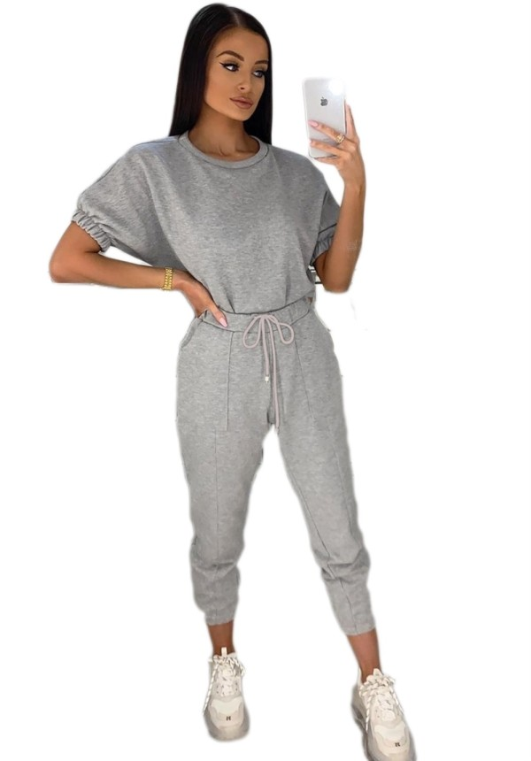 Yaz Casual Boş İki Adet Pantolon Boş Zaman Takım Elbise