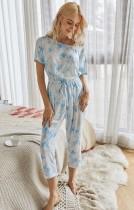 Summer Tie Dye Pyjama Overall