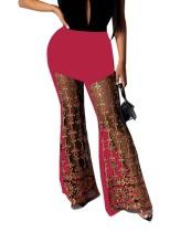 Pantalones de club de cintura alta con lentejuelas sexy