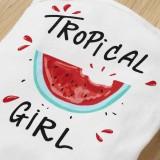 Baby Girl Summer zweiteilige niedliche Print Shorts Set