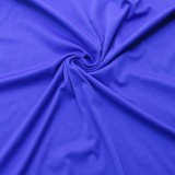 Vestido de noche sin mangas azul africano