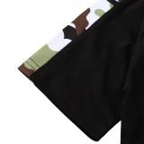 Conjunto de pantalones cortos de dos piezas para niños Summer Camou