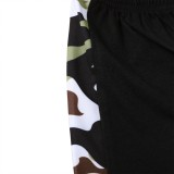 Kids Boy Summer Camou Zweiteiliges Shorts-Set