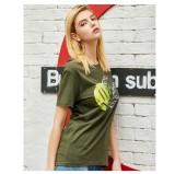 Sommer Print O-Neck Regular Shirt