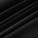 Chaleco de correa plisada de color sólido