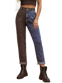 Western Blue Sytlish Regular Straight Jeans