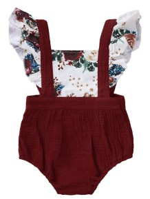 Baby Girl Summer zweiteilige Hosenträger Shorts Set