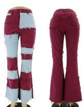 Kontrastvolle afrikanische Jeans