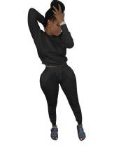 Однотонный двухсекционный африканский спортивный костюм