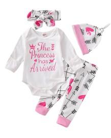 Bebê 4pcs Set Underwear