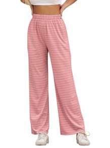 Summer Striped Leisure Pants