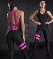 Conhecimento sobre esportes Fitness Yoga Jumpsuit