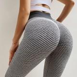 Leggings sexy de yoga Scrunch de cintura alta