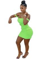 Sexy Plain Knit Straps Bodycon Dress