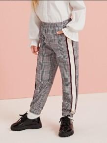 Pantalon à carreaux automne fille pour enfants