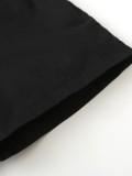 Camisa de verano para niños con efecto tie dye y shorts negros