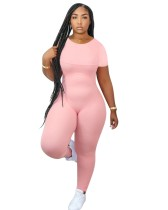 Sommersport Fitness Plain Jumpsuit