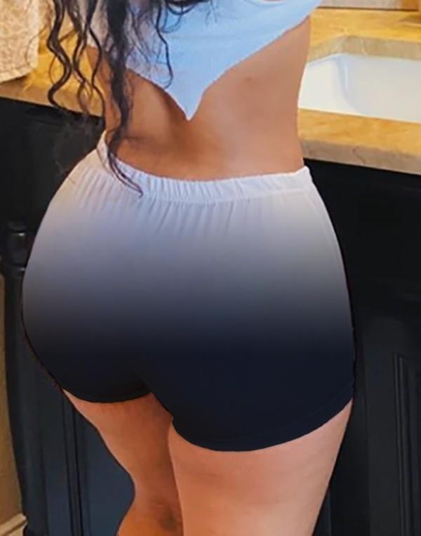 Pantalones cortos de verano con degradado