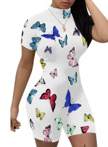 Sexy Butterfly Summer Bodycon Strampler