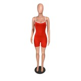 Summer Sports Fintess Straps Rompers