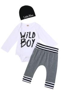 Baby Boy Print Unterwäsche 3PC Set