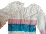 Vestido boho de encaje occidental de dos piezas