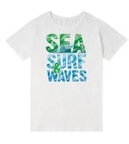 Summer Family Daddy Print Weißes Hemd