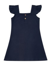 Summer Family Girl vestido azul oscuro