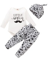 Baby Boy Autumn 3 Stück Print Hosen Set