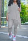 Conjunto de calças casuais africanas simples empilhadas