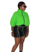 Chándal Autumn Neon Shorts