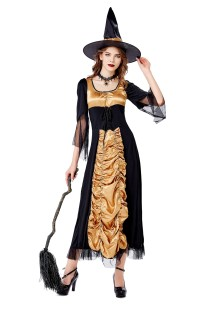 Cosplay Women Witch Costume