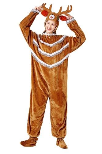 Cosplay Femmes Elk Costume