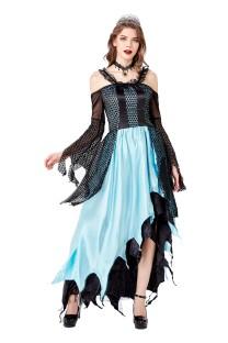 Cosplay vrouwen koningin lange jurk