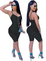 Sportfitness zwarte rompertjes