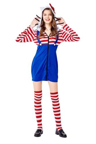 Costume de chat femme cosplay
