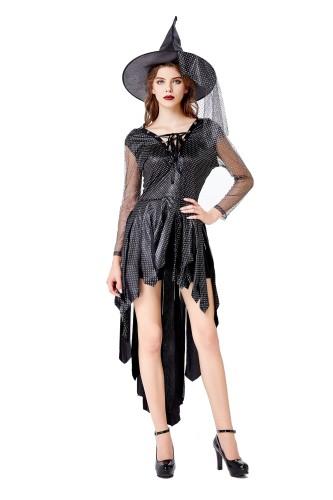 Cosplay disfraz de bruja para mujer