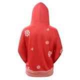 Frauen Weihnachten Red Hoody Shirt