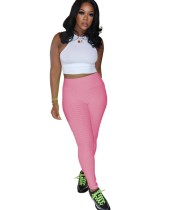 Sport Yoga Fitness Leggings mit hoher Taille