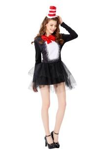 Traje cosplay feminino de mágico