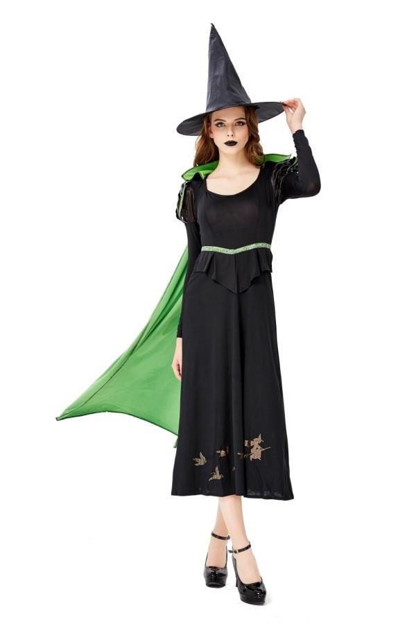 Costume de sorcière Halloween femmes
