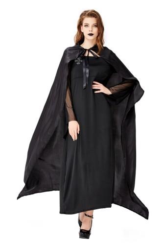 Halloween vrouwen zwart vampier kostuum