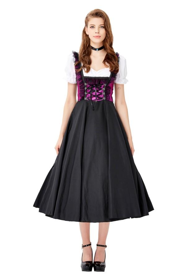 Costume cosplay da ragazza nobile
