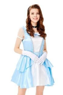 Fantasia de princesa cosplay feminina