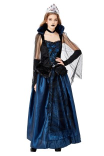 Fantasia de rainha feminina de Halloween