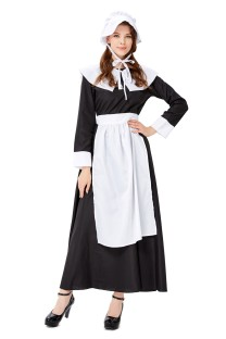 Cosplay Kadınlar Fransız Hizmetçi Kostüm