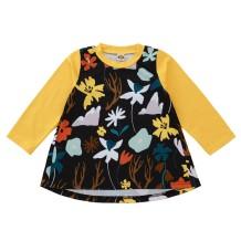 Kids Girl herfst A-lijn bloemenjurk