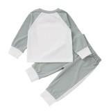 Set pigiama con pantaloni abbinati autunnali per bambina