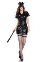 Ensemble de costumes pour femmes de la police d'Halloween