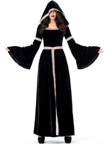 Hollaween vrouwen heks kostuum